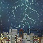 Peringatan Dini BMKG Minggu, 11 April 2021: 4 Wilayah Ini Berpotensi Hujan Petir & Angin Kencang
